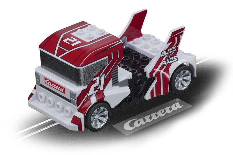 Carrera Go!!! Build n Race - Race Truck white