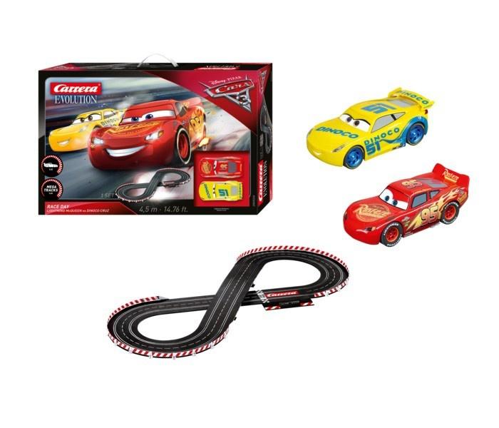 Auslauf - Carrera Evolution Disney Pixar Cars 3 - Race Day