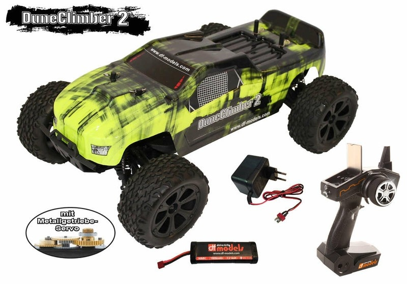 Auslauf - DF-Models Dune Climber 2 4WD Buggy brushed 2.4GHz
