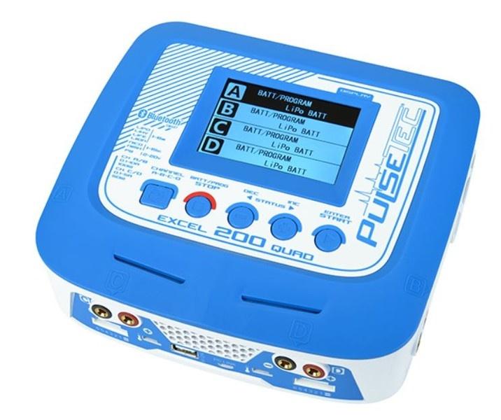 Pulsetec - Quad Charger - Excel 200 Quad - Pulse Link App -