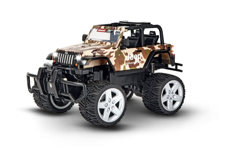 Carrera RC 2,4GHz Jeep® Wrangler Rubicon, camouflage