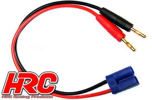 HRC Racing Ladekabel - Gold - Banana Plug zu EC5 Stecker