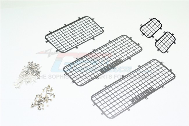 GPM scale accessories: aluminium window guard for TRX-4