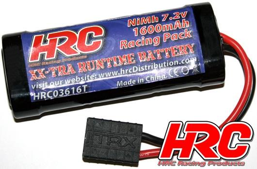 HRC Akku - 6 Zellen - HRC 1600 - RC Car Micro - NiMH - 7.2V