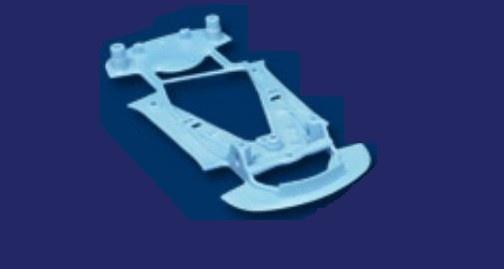 NSR Corvette C7R Chassis SOFT BLUE TRIANGULAR