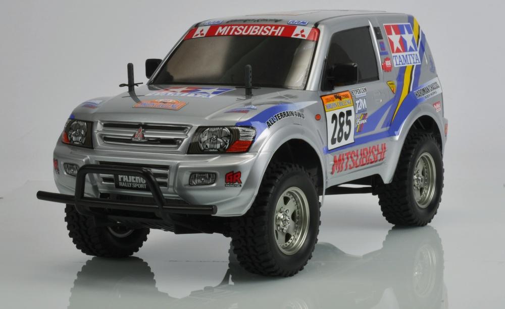 Auslauf - Tamiya Mitsubishi Pajero Rally Sport (CC-01)
