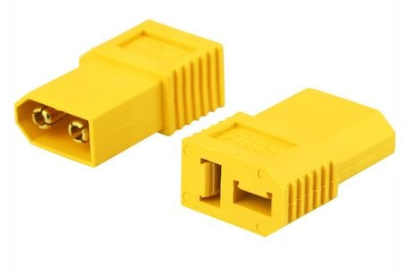 Adapter XT60-D  XT60Stecker <=>Deans Buchse Bulk