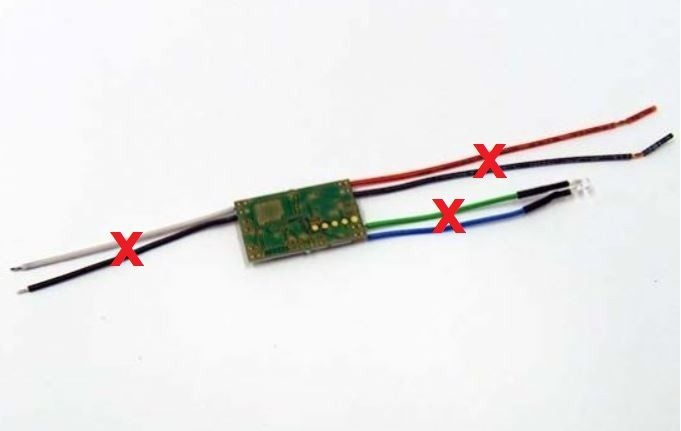 Digitaldecoder kompatibel mit Carrera Modell X81 V1.2