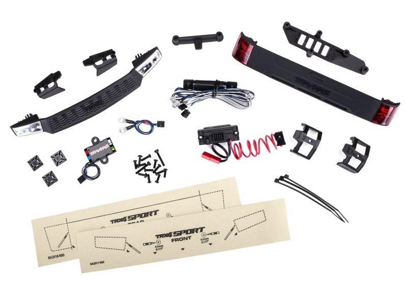 Traxxas LED Licht-Kit kompl.mit Power Supply (Headlights,