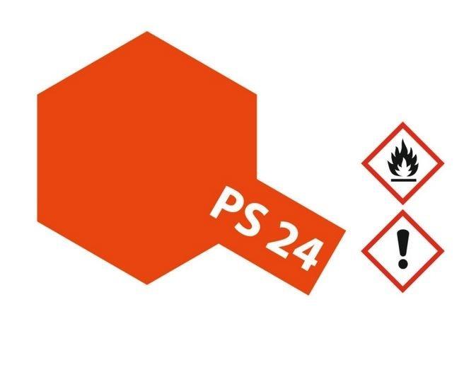 Tamiya Lexanlack PS 24 leucht-orange