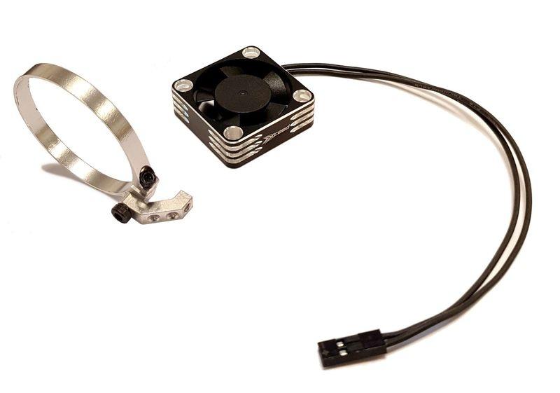 MLine Lüfterhalter Set für 1:8er-Motoren --SPARSET-- incl.