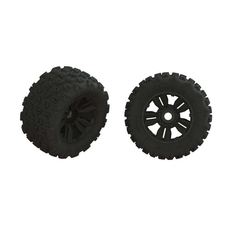 Arrma dBoots Copperhead2 MT Tire Set glued (Pair)