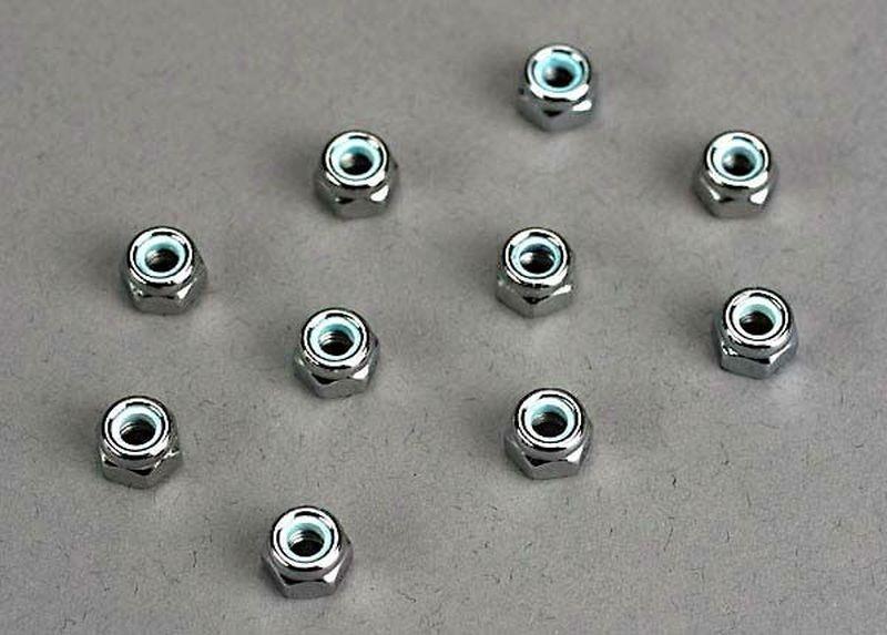 Traxxas Muttern 4mm (10)