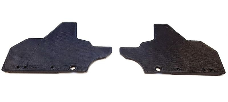 JS-Parts Mudguards ultraflex