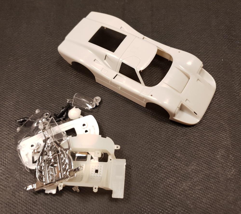 NSR Ford MK IV  Clear Body Kit / Karosserie unlackiert (alte