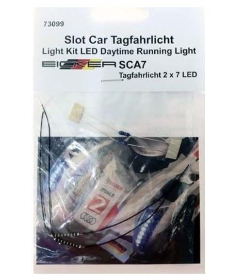 EICKER Racing Tagfahrlicht für Lichtset incl. 2x7 LED