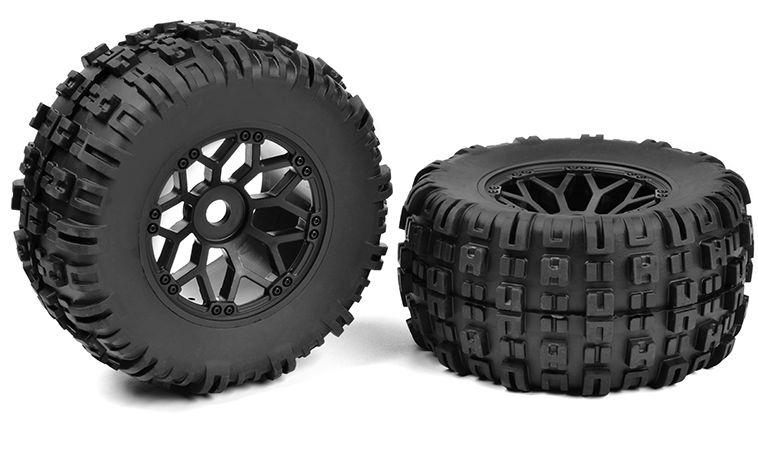 Team Corally - Off-Road 1/8 MT Tires - Mud Claws -