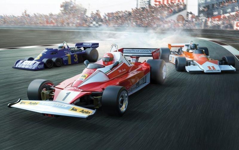 Scalextric 1:32 Triple-Set McLaren M23/312T /Tyrrell P34