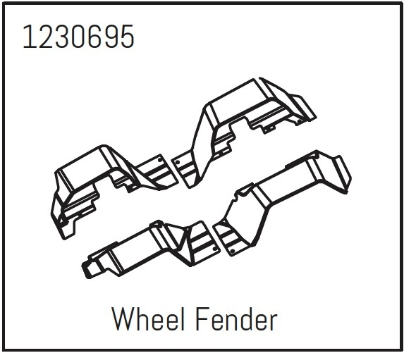 Absima Wheel Fender Set - Khamba