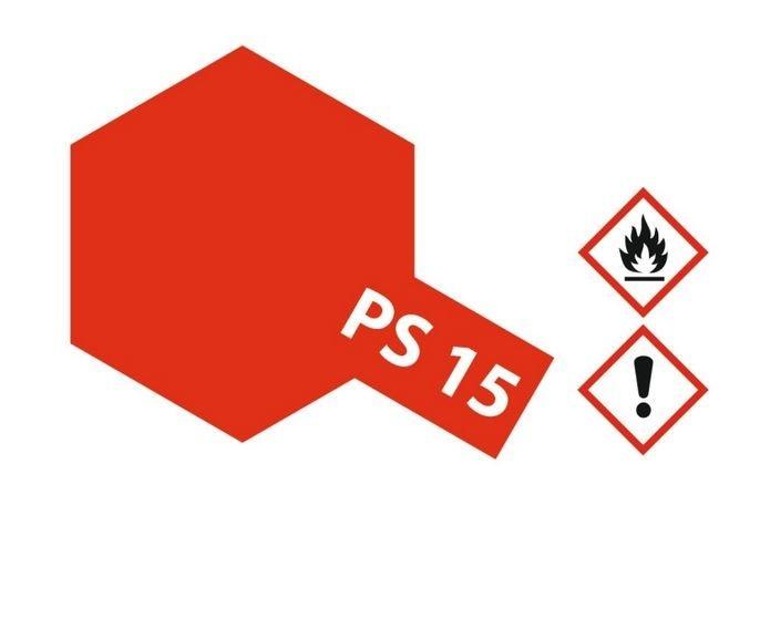 Tamiya Lexanlack PS 15 metallic-rot