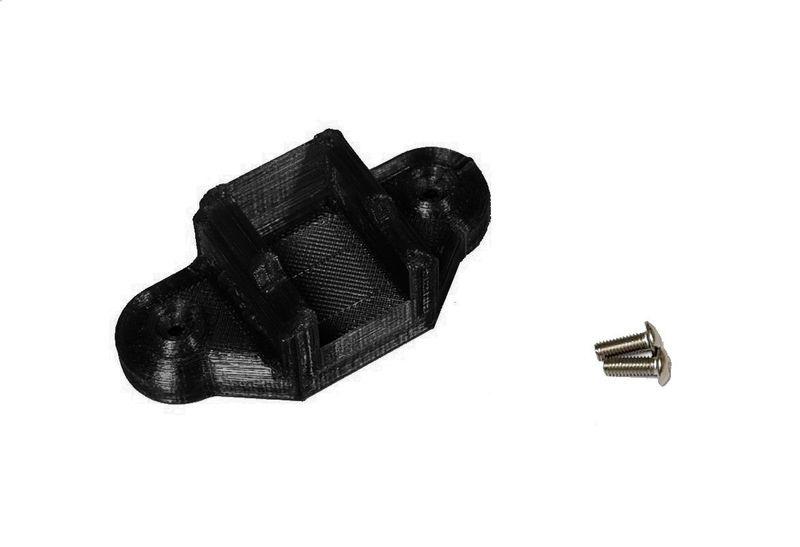 JS-Parts ultraflex Schalter Halter schwarz für Hobbywing