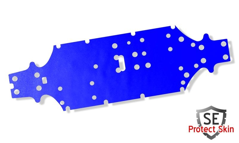 JS-Parts SE Protect Skin Unifarbe Blau