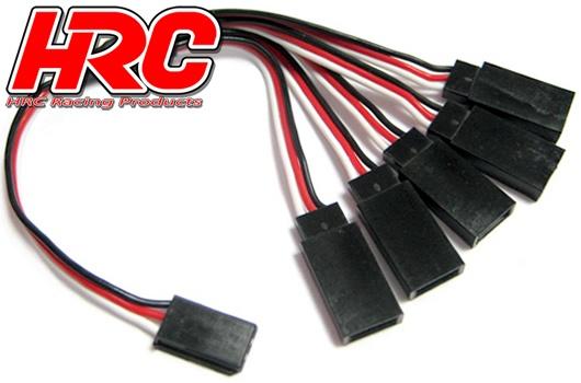 HRC Kabel Y 1 zu 5 - 26 Gauge Kabel - LED UNI (FUT & JR) typ