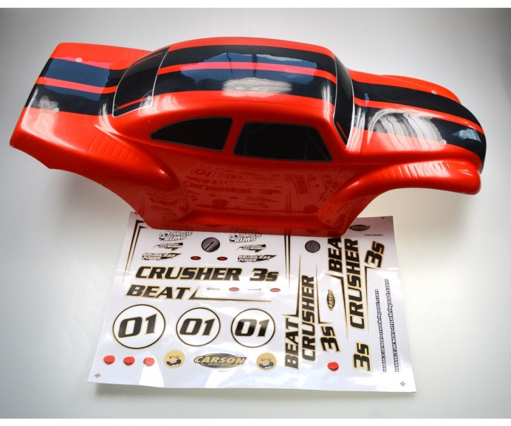 Auslauf - Carson X8 Beat Crusher 3S 4WD Karosserie lackiert