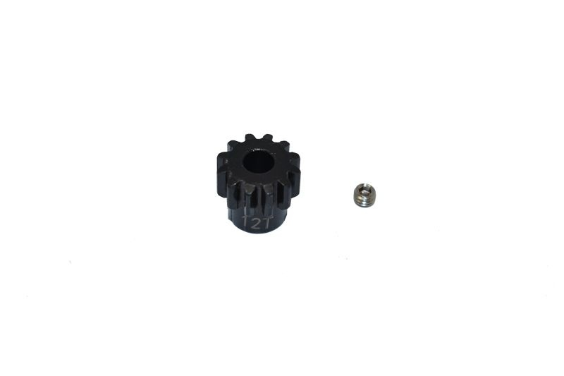 GPM Harden Steel 45# 12T Pinion Gear - 2PC Set for