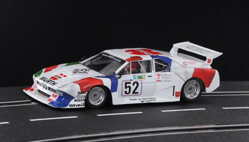 Sideways M1 Le Mans 1981 No. 52