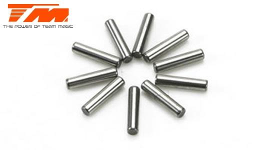Team Magic Stifte - 2.5x16.8mm (10 Stk.) B8ER/SETH
