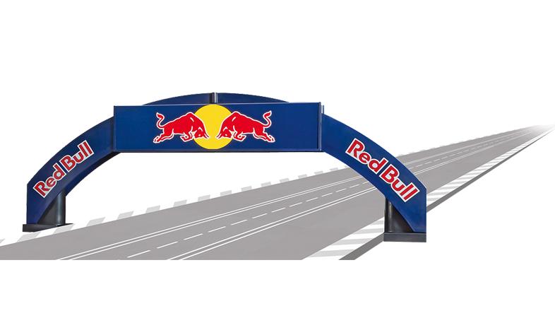 Carrera Rennbogen Red Bull