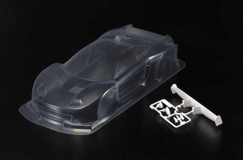 Tamiya RC Karosserie-Satz Honda NSX 2005 GT LW o.Dekor