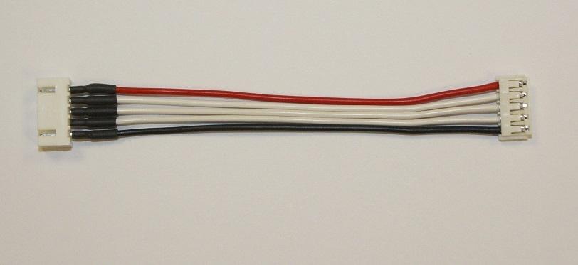 Balancer-Adapter 10cm 4s EH-Buchse auf XH-Stecker