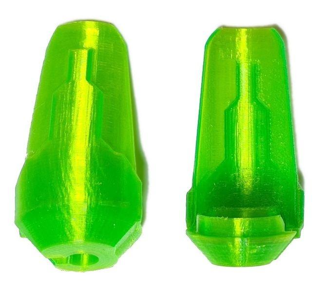 JS-Parts Kolbenschützer ultraflex  f. Traxxas X-Maxx grün