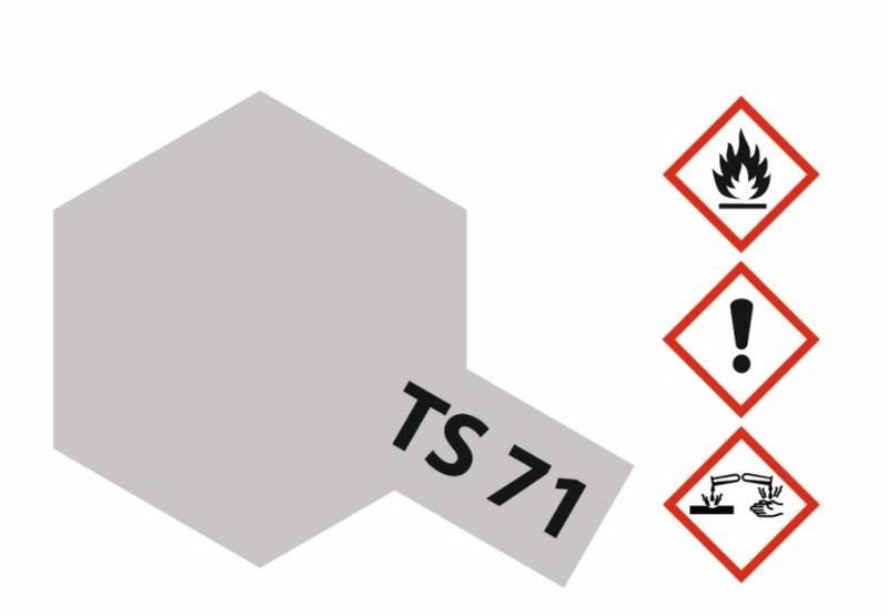 Tamiya Acryl-Sprühfarbe TS-71 Rauch Transparent glänzend
