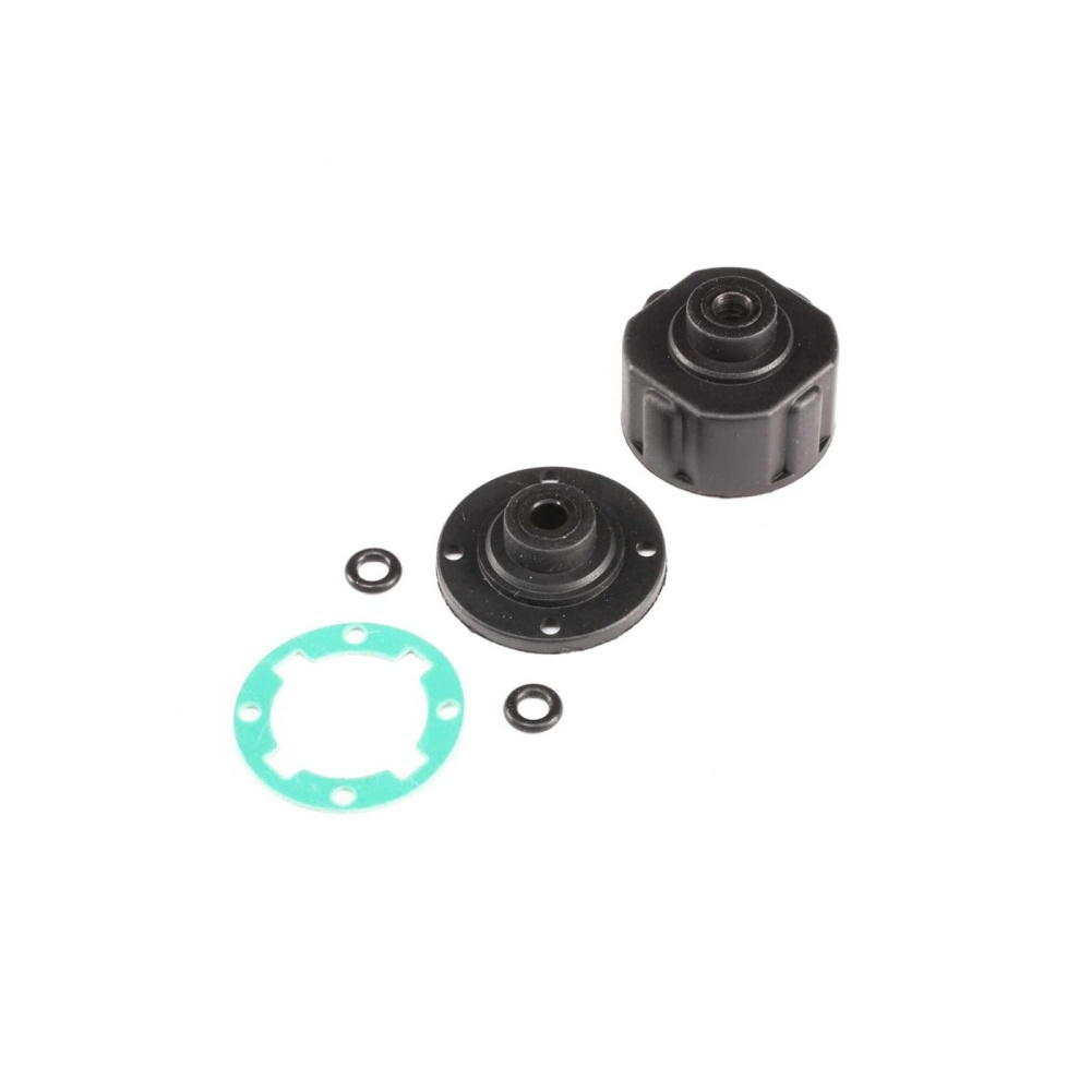 Losi Diff Housing, Integrated Insert: TENACITY (LOS232026)