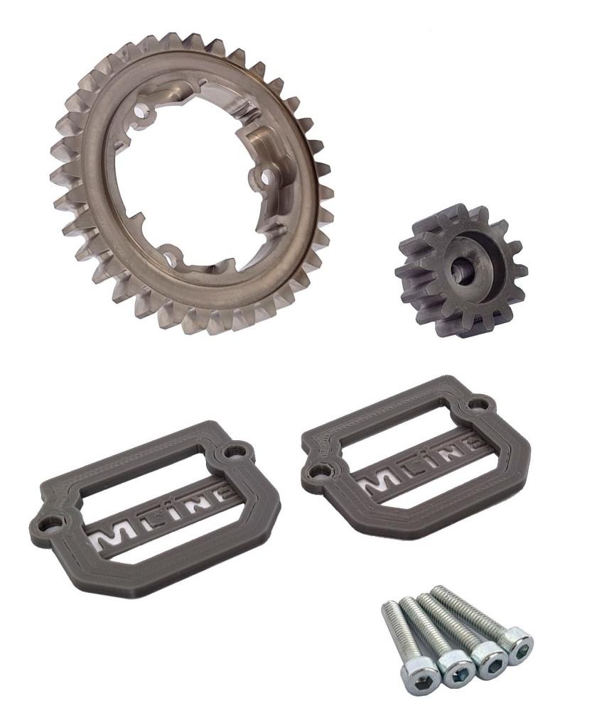MLine Harden Steel Tuning für Traxxas X-Maxx Modul 1.5 35/14