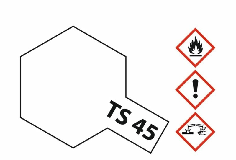 Tamiya Acryl-Sprühfarbe TS-45 Perlweiss glänzend 100ml