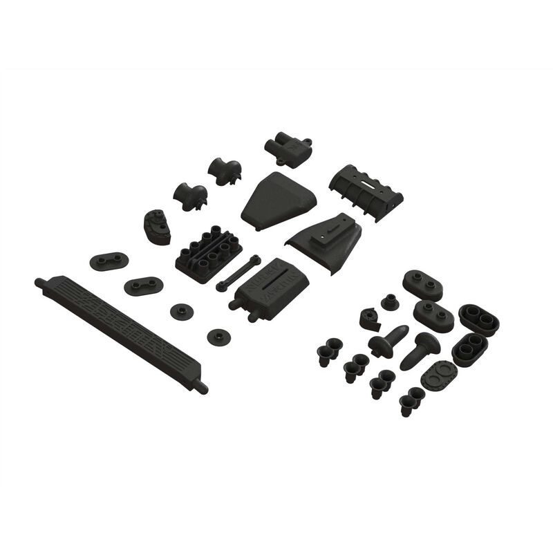 Arrma 1/7 Scale Body Accessories, Set A