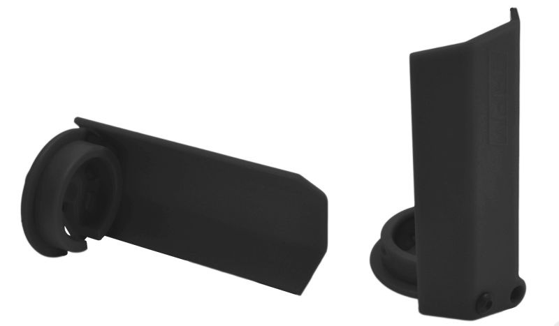 RPM Dämpferstangen-Schützer(2) schwarz für Traxxas