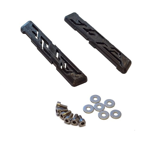 JS-Parts Dachskid für Arrma Kraton V4 schwarz