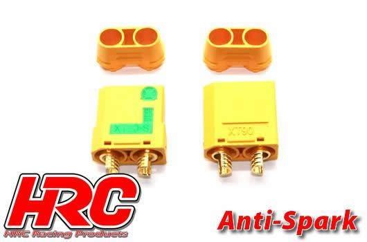 HRC Racing Stecker - Gold - XT90 - männchen und weibchen