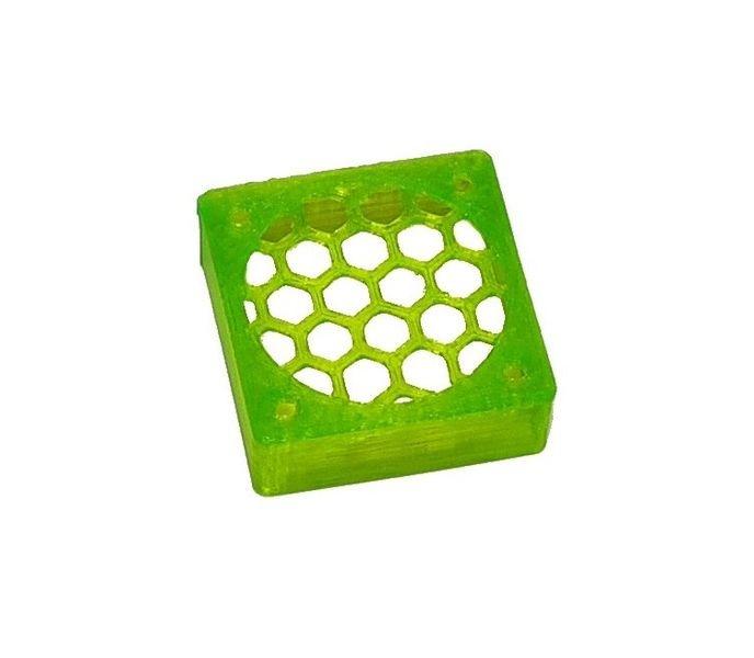JS-Parts ultraflex Lüftergitter 30x10 geschlossen grün