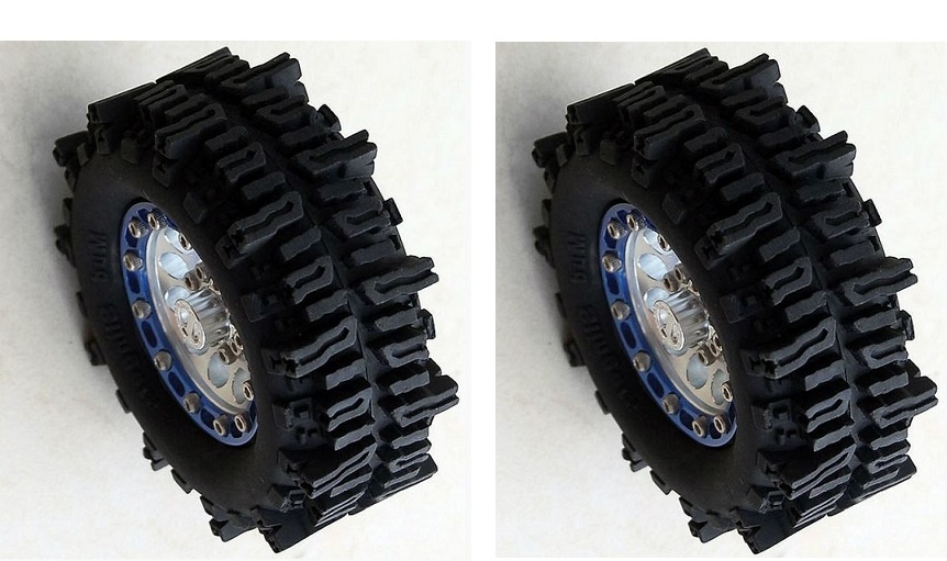 RC4WD Mud Slingers 1.9 Tires, 1 Paar