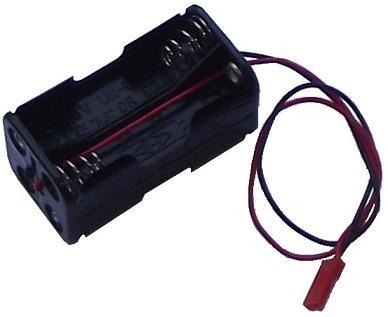 Akkufach / Batteriefach BEC für 4x Mignon AA 4,8V