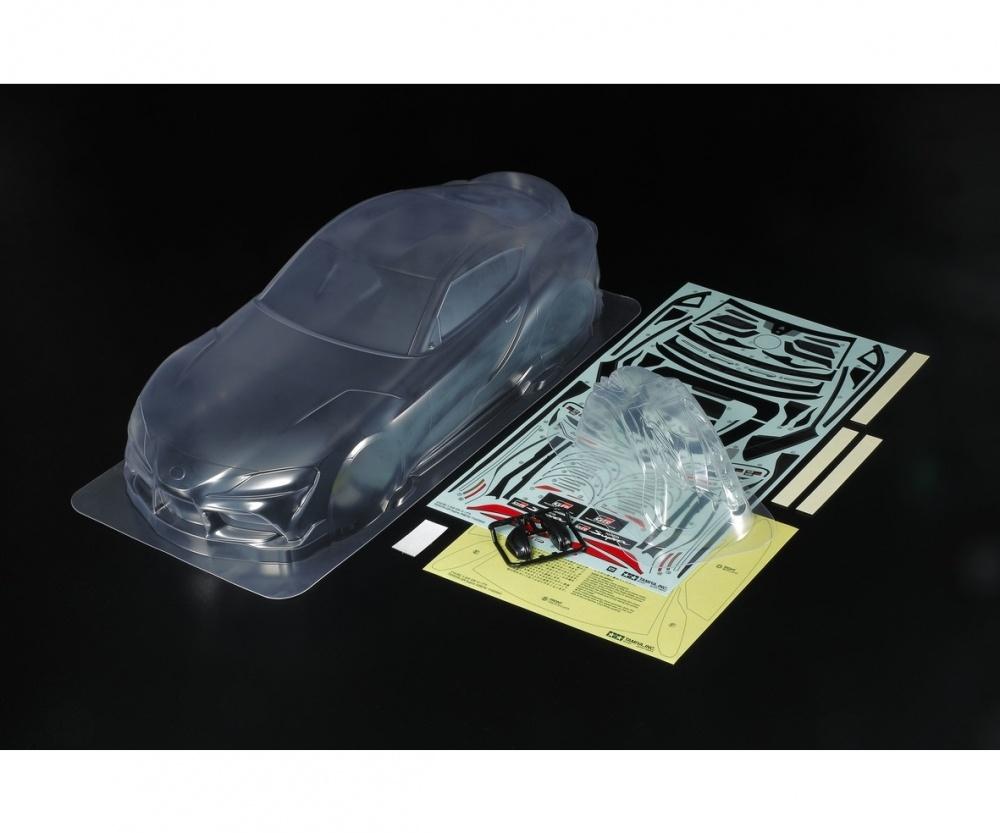 Tamiya RC Karosserie-Satz LW Toyota G.R. Supra RS257mm