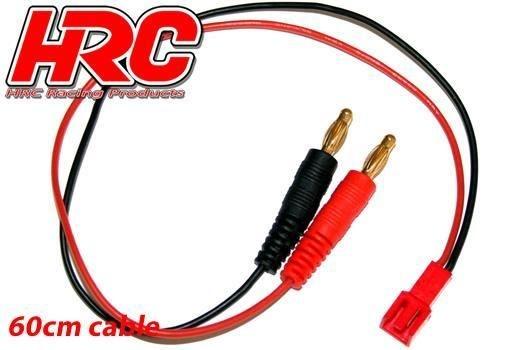 HRC Racing Ladekabel - 4mm Bullet zu Molex Micro Plug