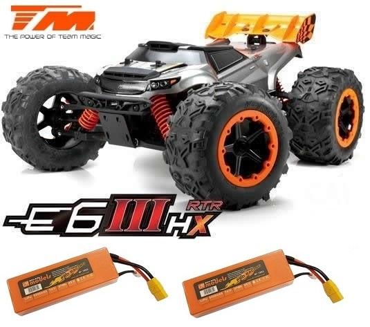 Team Magic E6 III HX 4WD Electric Monster Truck BL 2.4GHz