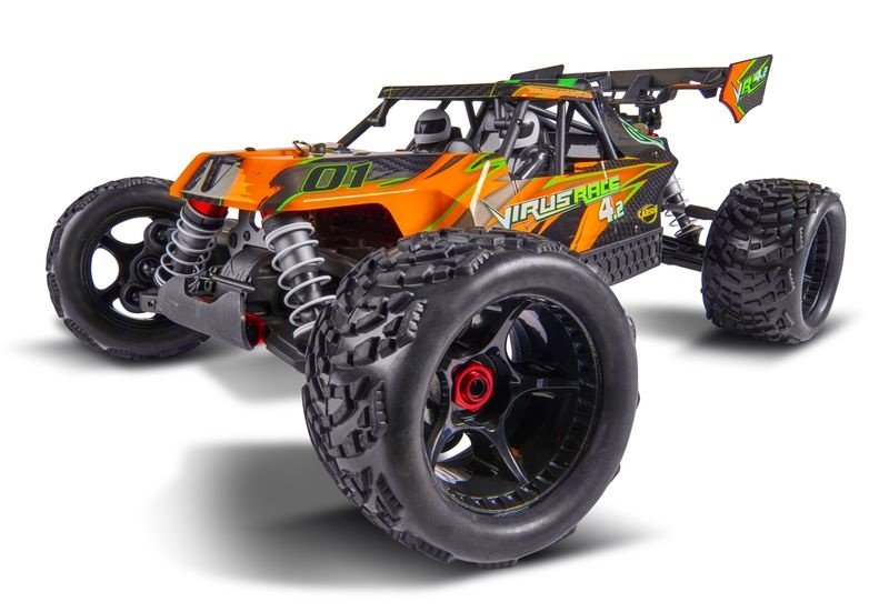 Carson Karosserie Virus Race 4.2 orange - Special Edition -